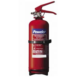 2kg Budget Dry Powder Fire Extinguisher
